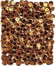 Akson Cekiny okrągłe opalizujące 15 g miedziane uniw