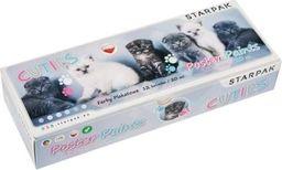 Starpak Farby plakatowe 12kol/20ml Cuties koty