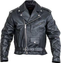 Sodager Skórzana kurtka motocyklowa Sodager Live To Ride Jacket Kolor Czarny, Rozmiar 4XL