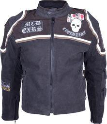 Sodager Skórzana kurtka motocyklowa Sodager Micky Rourke Kolor Czarno-graficzne, Rozmiar XL