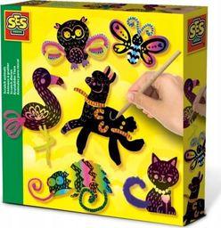 SES Kreatywna zabawa - Zwierzątka zdrapywanki