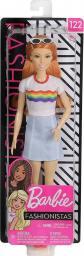Mattel Lalka Barbie Fashionistas ® Modne przyjaciółki ® Rudowłosa  (FBR37/FXL55)