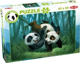 Tactic Puzzle Panda Stars B 56 elementów