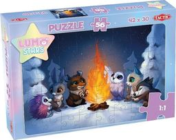 Tactic Puzzle Lumo Stars By the fire 56 elementów