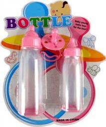 Adar Zestaw dla lalki butelki x2 + smoczek blister