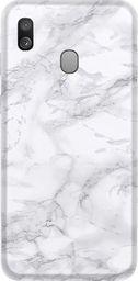 CaseGadget Nakładka do Samsung Galaxy A40 szary marmur