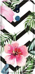 CaseGadget Nakładka do LG K40 tropikalne kwiaty