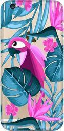 CaseGadget Nakładka do Apple iPhone 6/6s papuga i kwiaty