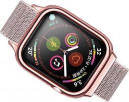 Usams Pasek z etui Apple Watch 4 40mm. różowo-złoty/rose gold ZB73IW4 (US-ZB073)