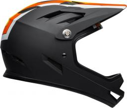 BELL Kask full face Sanction agility matte black yellow orange r. S (52–54 cm) (BEL-71001)