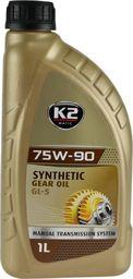 K2 K2 Matic syntetyczny olej przekładniowy 75W/90 GL-5 1L uniwersalny