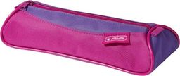 Piórnik Herlitz Piórnik kosmetyczka trójkątny Pink/Purple