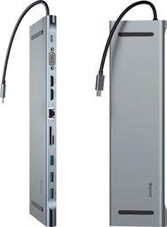 Stacja/replikator Baseus adapter USB-C HUB Enjoyment (CATSX-G0G)
