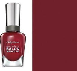 Sally Hansen Sally Hansen Lakier Salon Complete Manicure Rupee Red Nr 840 uniwersalny
