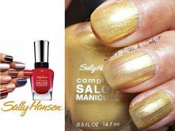 Sally Hansen Sally Hansen Lakier Salon Complete Manicure Goldie Frocks uniwersalny
