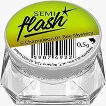 Semilac Pyłek Semilac Efekt kameleona SemiFlash Chameleon Bee Mystery 01 uniwersalny