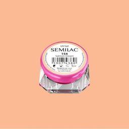 Semilac Semilac Kolorowy Lakier Żelowy 154 Salmon Dream 5ml uniwersalny