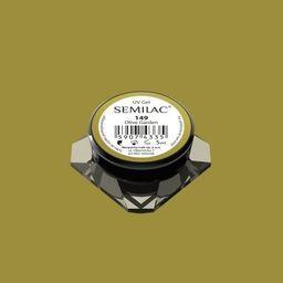 Semilac Semilac Kolorowy Lakier Żelowy 149 Olive Garden 5ml uniwersalny