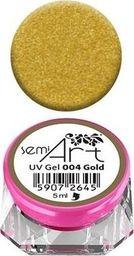 Semilac Semilac UV Gel Semi-Art 004 Gold - 5 ml uniwersalny