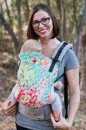 Tula Tula, Baby, Nosidełko ergonomiczne, Bliss Bouquet (7-20kg) uniwersalny