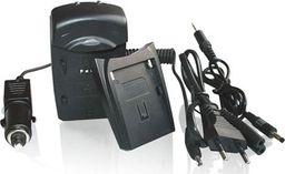 Ładowarka do aparatu Whitenergy K5001 800mA z wymiennym adapterem (6358)