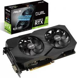 Karta graficzna Asus Dual GeForce RTX 2060 Gaming Evo OC 6GB GDDR6 (DUAL-RTX2060-O6G-EVO)