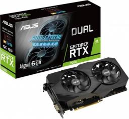 Karta graficzna Asus Dual GeForce RTX 2060 Advanced Gaming Evo 6GB GDDR6 (90YV0CH3-M0NA00)