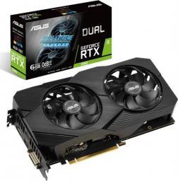 Karta graficzna Asus Dual GeForce RTX 2060 Gaming Evo 6GB GDDR6 (90YV0CH4-M0NA00)