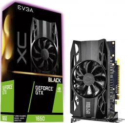 Karta graficzna EVGA GeForce GTX 1650 XC Black Gaming 4GB GDDR5 (04G-P4-1151-KR)