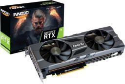 Karta graficzna Inno3D GeForce RTX2080 Super Twin X2 OC 8GB GDDR6 (N208S2-08D6X-11801167)