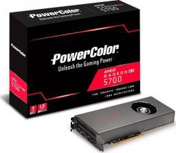 Karta graficzna Power Color Radeon RX5700 8GB GDDR6 (AXRX 5700 8GBD6-M3DH)