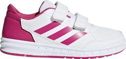 Adidas Buty dla dzieci adidas AltaSport CF K biało różowe D96828 33,5