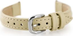 Pacific Pasek skórzany do zegarka W30 - w pudełku - beżowy - 14mm uniwersalny
