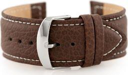 Pacific Pasek skórzany do zegarka W71 - ciemny brąz - 24mm uniwersalny