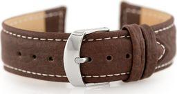 Pacific Pasek skórzany do zegarka W71 - ciemny brąz - 20mm uniwersalny