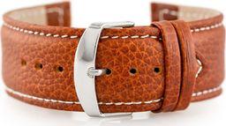 Pacific Pasek skórzany do zegarka W71 - brązowy - 24mm uniwersalny