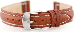 Pacific Pasek skórzany do zegarka W71 - brązowy - 14mm uniwersalny