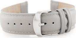 Pacific Pasek skórzany do zegarka W83 - popielaty - 24mm uniwersalny
