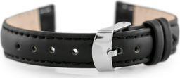 Pacific Pasek skórzany do zegarka W83 - czarny - 12mm uniwersalny