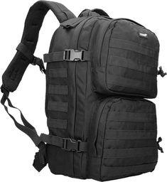 Texar Plecak taktyczny Scout Czarny 35L