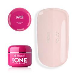 Silcare Żel do paznokci Gel Base One French Pink budujący 30g