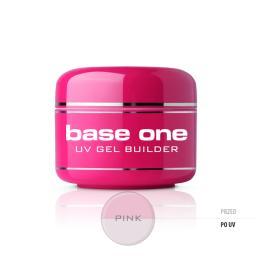Silcare Żel do paznokci Gel Base One Pink budujący 30g