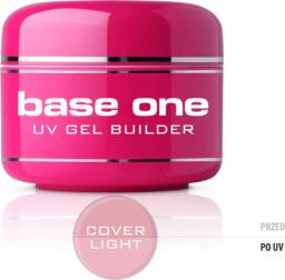 Silcare Żel do paznokci Gel Base One Cover Light maskujący 15g