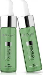 Silcare Oliwka do paznokci The Garden of Colour Oil Kiwi Deep Green 15ml