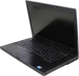 Laptop Dell Latitude E6510 i5-520M 8GB 120GB SSD 1366x768 Klasa A- Windows 10 Professional