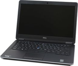 Laptop Dell Latitude E7440 Intel i5-4300U 8GB 120GB SSD 1366x768 Klasa A- Windows 10 Home