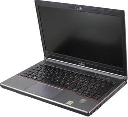 Laptop Fujitsu LifeBook E734 i5-4300M 4GB 120GB SSD 1366x768 Klasa A- Windows 10 Professional