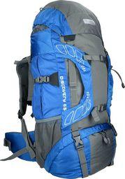 Highlander Plecak turystyczny Discovery Niebieski 65L