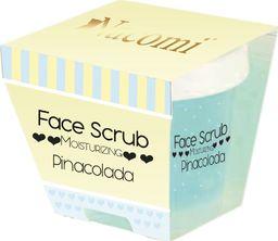 Nacomi NACOMI_Face Scrub Moisturizing peeling nawilżający do twarzy i ust Pinacolada 80g