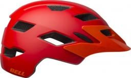 BELL Kask juniorski Sidetrack matte red orange r. Uniwersalny (50–57 cm) (BEL-71018)